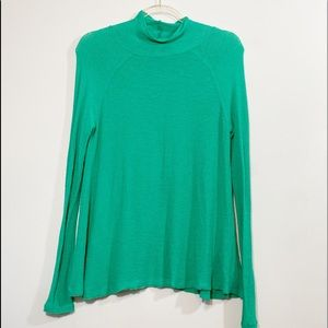 Intimately by Free People women's Green Top